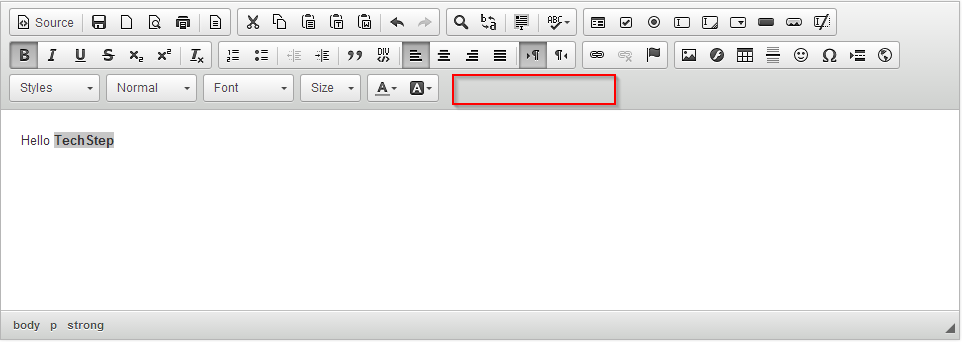 How to hide CKEditor toolbars or buttons HTML - Techno Thirsty